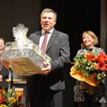 Glücklicher Gemeindepräsident der Gemeinde Möhlin