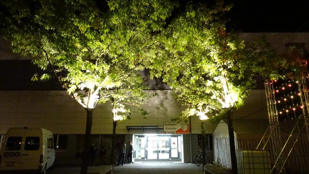 Beleuchtung der Bäume