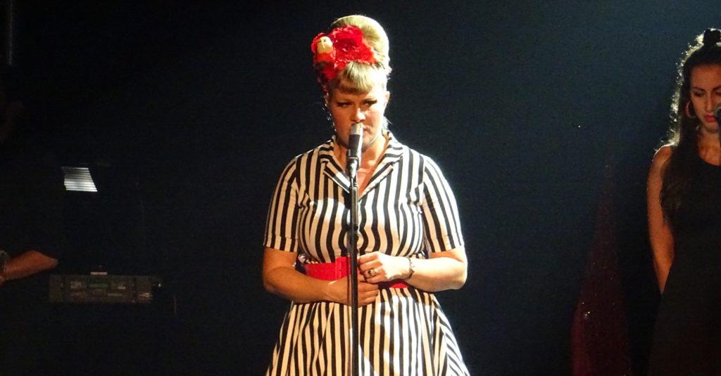 Nicole Bernegger an der Möga