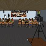Visualisierung der Veranstaltung