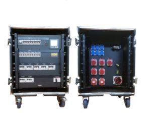 Stromverteiler CEE 63 in Case