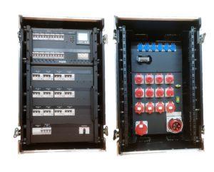 Stromverteiler CEE 125 in Case