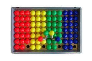 LED Glühbirnen Dimmbar 2.5W Rot, grün, Blau, Gelb