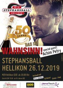 Flyer Stephansball Hellikon